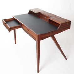 This is a beautiful writing desk.. Simply beautiful... Katakana desk by Dare Studio