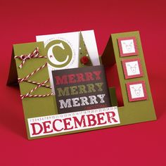 It is so easy to create fabulous Christmas cards using 3-D Step Cards from AccuCut. See more at www.accucutcraft.com