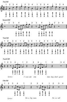 Harmonica tabs dixie