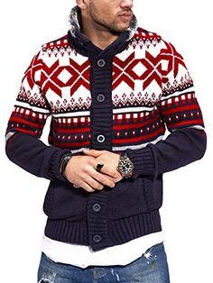 CARISMA Strickjacke Norweger Pullover 7011 CARISMA Sweater Jacket, Men Sweater, Pullover Hoodie, Christmas Sweaters, Hoodies, Model, Fashion, Knitting Sweaters, Knit Jacket