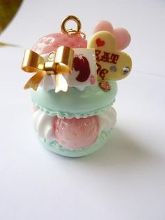 *+チェルシィ+*sweets+*+*+* adorable macaroon charm