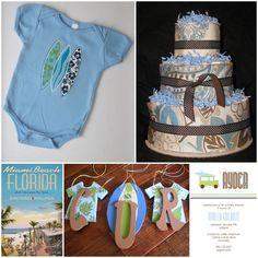 Vintage Surf Baby Shower | Project Nursery