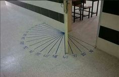 Excellent and creative idea for a school or university floor!