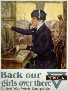 YMCA Women in World War 1