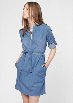 Entdecke den Summertrend Denim-Style mit dem Jeanskleid von s.Oliver