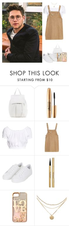 """""""Interview with Niall"""" by dreamofjess ❤ liked on Polyvore featuring Mansur Gavriel, H&M, Topshop, Yves Saint Laurent, claire's, OneDirection and NiallHoran"""