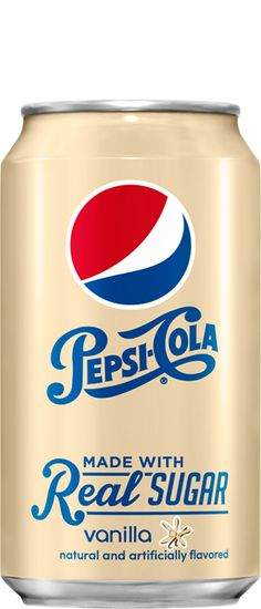 2014 - 12 ounce Pepsi Vanilla Real Sugar