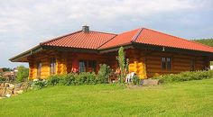 Wohnträume aus Holz - Blockhaus-Canada ? Can. Naturstammhaus