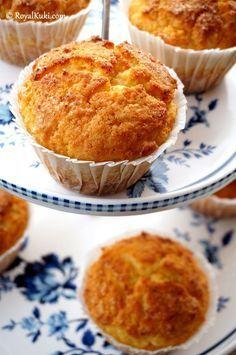 Portakallı Lor Peynirli Kek (Lorlu Muffin)