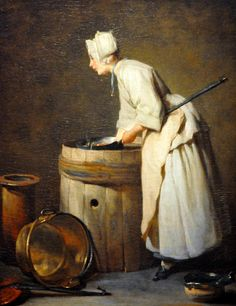 Jean-Simeon Chardin - The Scullery Maid, 1738, via Flickr
