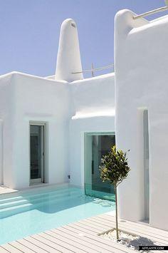 Summer House in Paros Cyclades, Greece // Alexandros Logodotis