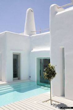 GREECE CHANNEL   Summer House in Paros Cyclades Greece Alexandros Logodotis via afflante.com