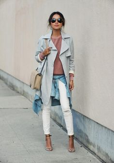 3659729196e We re all about white denim all year long. For fall
