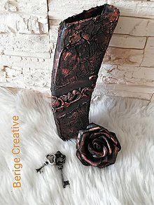 Dekorácie - Váza Bianka - 10731968_ Cowboy Boots, Bronze, Shoes, Zapatos, Shoes Outlet, Shoe, Western Boot, Footwear, Western Boots