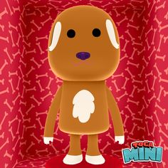 Ok so this was made in a app called toca mini. It's supposed to be a dog.