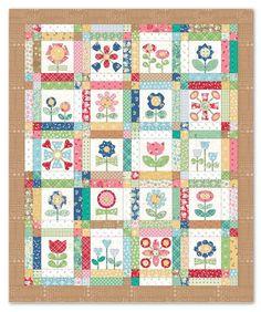 Bee In My Bonnet: BLOOM Sew Along - Week One - Block One!!