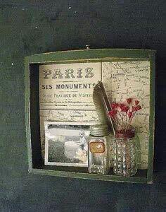 Repurposed old drawer