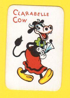 Walt Disney Vintage 1934 Collector Card Clarabelle Cow Disney Art, Walt Disney, Mickey Mouse Club, Minnie Mouse, Collector Cards, Aristocats, Vintage Disney, Funny Art, Cute Wallpapers