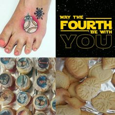 May the fourth BB8 tattoo