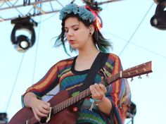 Nanna from Of Monsters and Men. Can we just take a moment to appreciate her fantastic style?