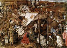 Anbetung der Könige (Bruegel, um 1564)L'Adorazione dei Magi è un dipinto a tempera su tela (115,5x163 cm) di Pieter Bruegel il Vecchio, databile al 1556 circa e conservato nel Museo reale delle belle arti del Belgio di Bruxelles.