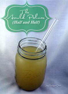 Arnold Palmer/Half and Half drink recipe. Non alcoholic!