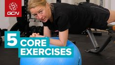 Improve your climbing ability and overall core strength with Emma's workout. These exercises will also help for injury prevention both on and off the bike. 30 Day Workout Plan, Bum Workout, Stability Exercises, Core Stability, Core Exercises, Reduce Arm Fat, Local Gym, Hiit Program, 30 Day Fitness