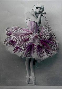 Jose Ignacio Romussi Murphy, embroidery artist who stitches over antique photos, so beautiful!