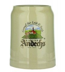 Beers of Europe | Andechs Pottery Stein Cream 0.5L