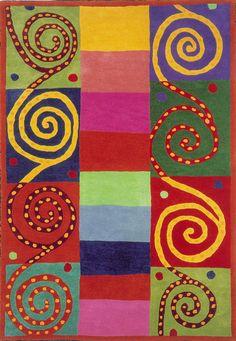 modernrugs.com Modern Sara Schneidman Whimsical Rug