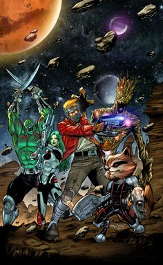 Guardians of The Galaxy | Nigel Raynor | Teo Gonzalez