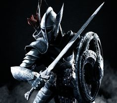 A Nordic Knight by LordHayabusa357 Steel Plate Armour <3