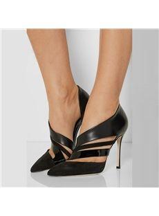 Shoespie Wrap Decorated Stiletto Heels