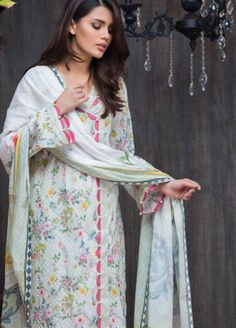 Best 12 Malhar Lawn Collection 2019 by Shariq Textiles – Malhar Online Store Salwar Designs, Kurta Designs Women, Kurti Designs Party Wear, Sleeves Designs For Dresses, Neck Designs For Suits, Dress Neck Designs, Sleeve Designs, Pakistani Fashion Casual, Pakistani Dresses Casual