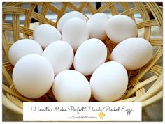 How to Make Perfect Hard-Boiled Eggs! Plus Classic Egg Salad & Avocado Egg Salad recipes Egg Recipes, Salad Recipes, Sandwich Recipes, Free Recipes, Recipies, Food Hacks, Food Tips, Food Ideas, Diy Ideas
