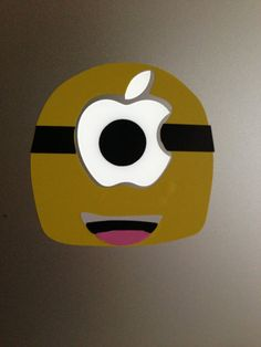 Minion Decal for Apple Mac Laptop