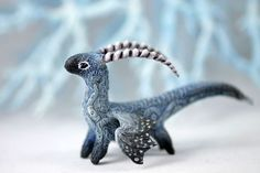 Little Dragon figurine fantasy animal creature art sculpture magic gif