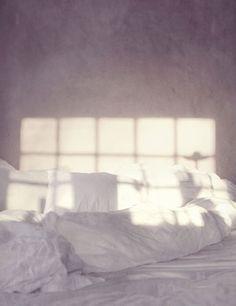 Heaven on earth. Sunshine. Big window. Bed linen. Sheets.