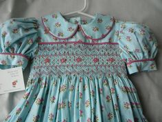 Hand Smocked Girls Dresses ......Little by themycollection2hotm