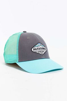 Patagonia Fitz Roy Crest LoPro Trucker Hat - Urban Outfitters Patagonia Hat c4407fc08e9f