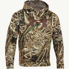 Men's Realtree Max 5 Under Armour Big Logo Hoodie yes please Hunting Rain Gear, Hunting Camo, Hunting Shirts, Hunting Clothes, Camo Clothes, Under Armour Backpack, Under Armour Camo, Camo Outfits, Nike Outfits