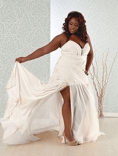 3e7eddfa761 sexy plus size wedding dress