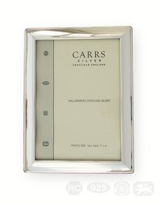 Carrs Silver frame