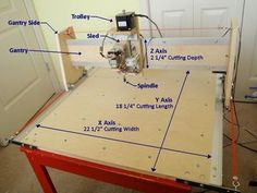 This instructable outlines the assembly process of my generation CNC machine which I designed to be simple to build and quiet enough to be apartment friendly.