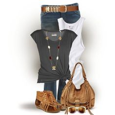 Cute outfit for summer nights