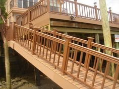 Beautiful elevated deck with ramp