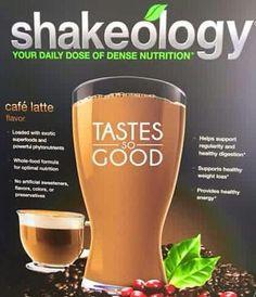 cafe latte shakeology - Google Search