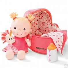 Find our great product: Lilliputiens - doll - bébé louise, dedicated to the wellbeing, the awakening and the happiness of your baby! Mon Premier Doudou, the online store for baby. Baby Chloe, Birth Gift, Top Toys, Baby Store, Soft Dolls, Novelty Gifts, Baby Bottles, Plush Dolls, Baby Cribs