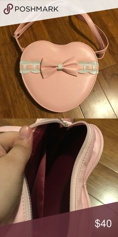 🆕 Cute Pink Heart Bag Cute bag from Japan!  ❤️ALL ITEMS SHIP SAME DAY OR NEXT DAY❤️ ❤️❤️❤️OFFERS ARE CONSIDERED❤️❤️❤️ Bags