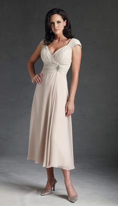 Mother of the Bride Dresses--this could work for me....not sure of the color, though....